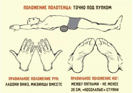 Делайте всего 5 минут в день. Эффективное упражнение, чтобы убрать живот и выпрямить спину.