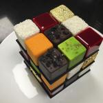 Необыкновенные тортики в виде кубика Рубика