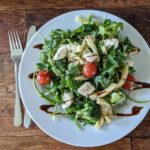Очень простой салатик с рукколой — 5 минут и готово!