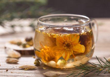 Связанный чай — бутон вкуса и аромата