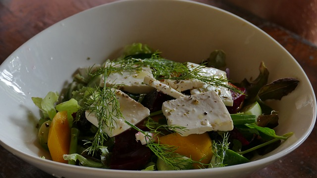 салат с травами